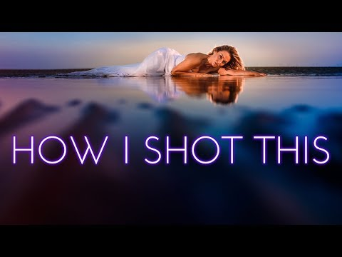 HOW I SHOT THIS | Trash the dress shoot on the beach