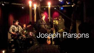 Joseph Parsons Band - Silence (live in Horst)