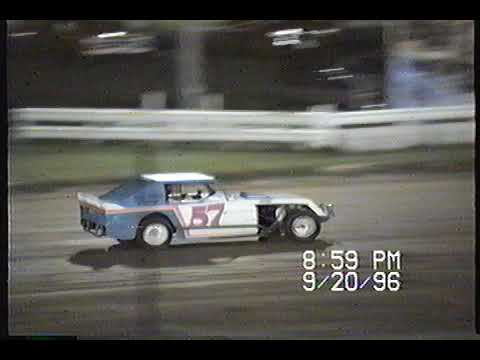 Jackson County Speedway - Maquoketa - 4Cyl Mods 9-20-96
