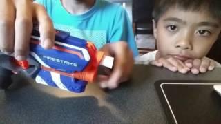 Video How to make paper nerf bullets (very easy) download MP3, 3GP, MP4, WEBM, AVI, FLV November 2017