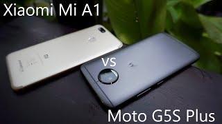 Xiaomi Mi A1 vs Moto G5S Plus Comparison Review