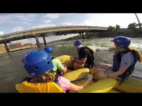 Whitewater rafting. Columbus, Ga. Go Pro. Whitewater Express.
