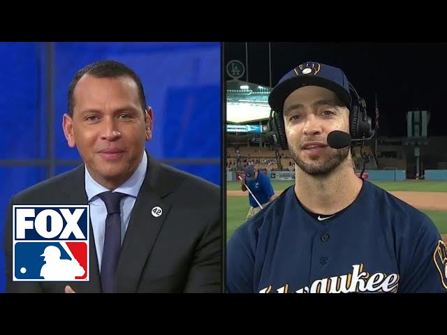 Ryan Braun joins Alex Rodriguez, MLB on FOX crew after Brewers NLCS Game 3 win | FOX MLB