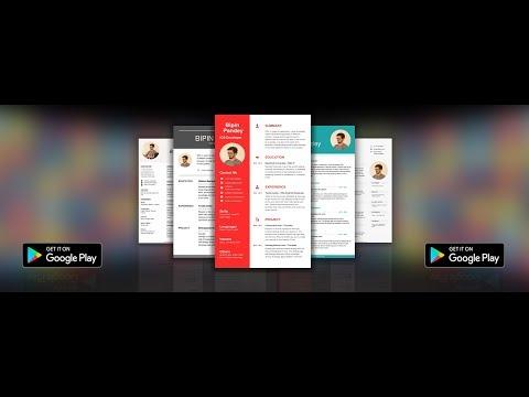 Resume Builder App Free Apps On Google Play