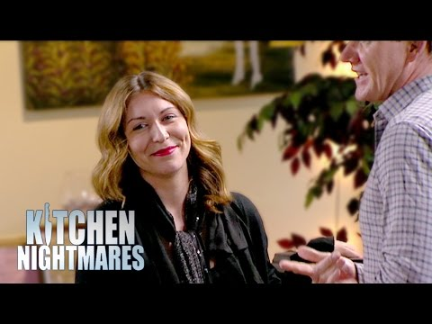 Tatiana Gets The Giggles Meeting Gordon  Kitchen Nightmares
