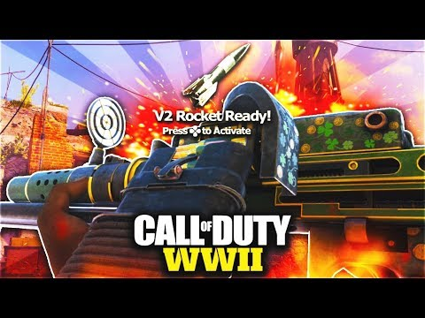 NEW MG-18 V2 ROCKET GAMEPLAY in COD WW2! NEW DLC WEAPON is ONE OF THE BEST! (COD WW2 MG18 DLC GUN)