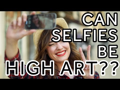 This Art Gallery is using Selfies in a New Way | Leon Charney Reporters