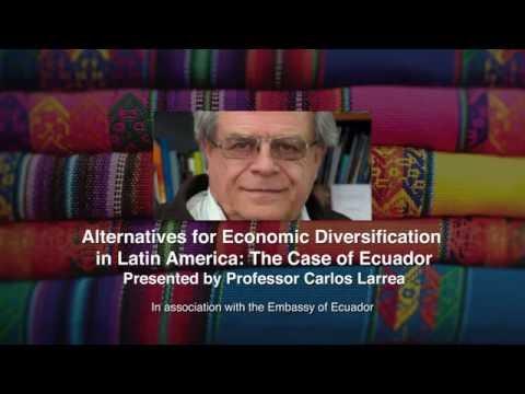 Alternatives for Economic Diversification in Latin America: The Case of Ecuador