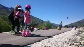 первый открытый урок от Kidssnow в Красной поляне!