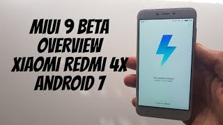 MIUI9 Review Xiaomi Redmi 4X Quick Overview/Features/New things/Android 7/beta ROM version