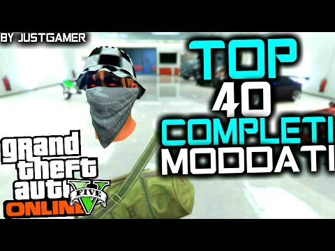 "GTA V Online: TUTTI I MIEI COMPLETI MODDATI! - ""TOP 40 BEST MODDED OUTFITS"" By JUST_GAMER"