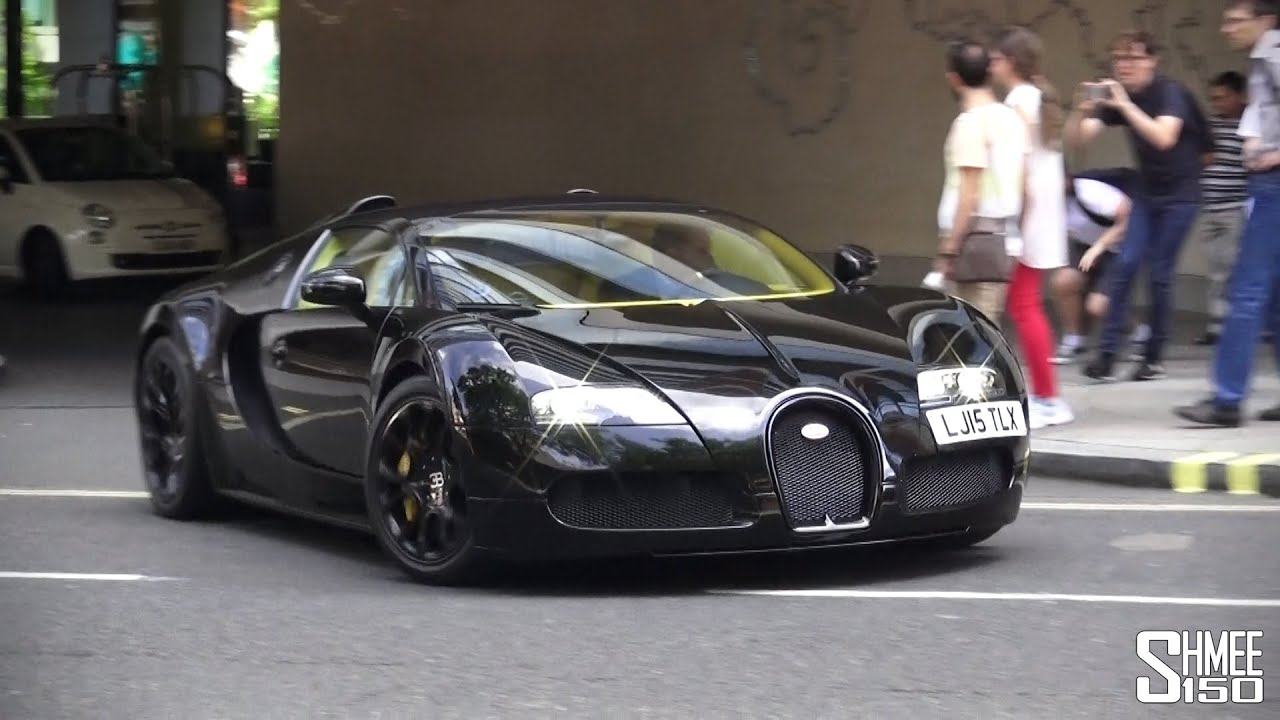 Bugatti Veyron Laferrari Spyder London Supercars