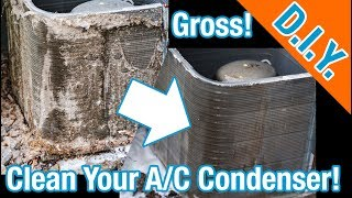 How To Clean Your Air Conditioner Condenser Coil (Step By Step)