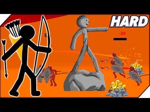 ДИКИЕ АБОРИГЕНЫ ПРОТИВ СТИКМЕНОВ - Stick War Legacy HARD MODE  # 1