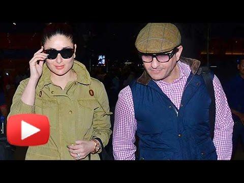 Saif Ali Khan And Kareena Kapoor Khan Return From London Vacation Mp3