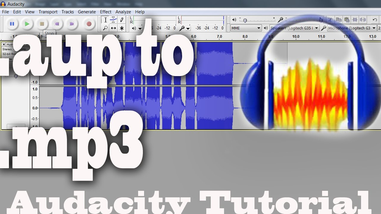 convert aup to mp3 online free