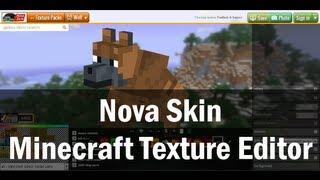 Tutorial - Nova Skin Texture Pack Editor (wolf skin)