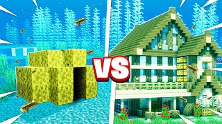 SECRET UNDER WATER BASE BUILD CHALLENGE!