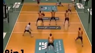 Volleyball Triple Head Shot/Волейбол   тройной хэдшот