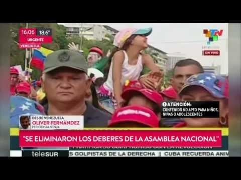La marcha en Venezuela