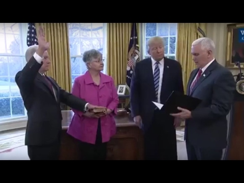 Jeff Sessions Sworn in as the 84th United States Attorney General