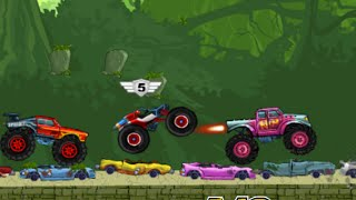 Сумасшедшие Гонки на больших машинах(Сумасшедшие Гонки на больших машинах. Мультфильмы http://www.youtube.com/c/KarapuzTVonline Мультфильмы-одно из самых радостн..., 2016-02-21T22:34:54.000Z)