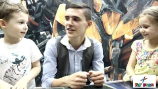 Новенькое детское интервью во Fly Park № 2