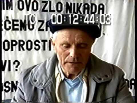 Svjedoci Genocida - Smail Tutic - Logor Susica Vlasenica