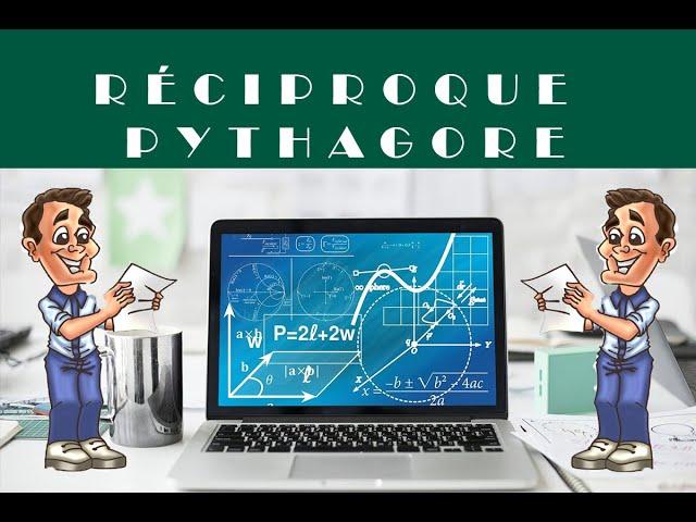 EXERCICE : Théorème de Pythagore (réciproque) - corrigé.