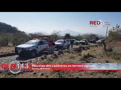 VIDEO Encuentran dos ejecutados al fondo de una barranca en Zamora