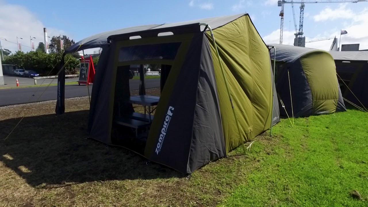 Zempire 2016 Atlas Canvas Tent + Pole Set & Zempire 2016 Atlas Canvas Tent + Pole Set - YouTube