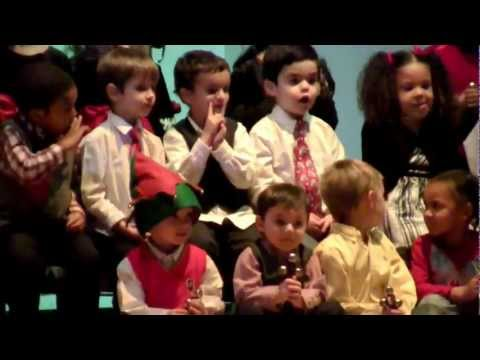 Thorndale Elementary School Christmas Concert 2011: Pre-K show