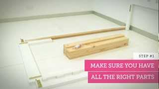 Adairs Tip #1 -  How To Assemble Your Adairs Kids Children's Sized Bed