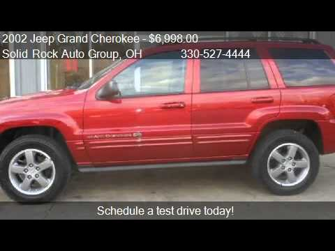 2002 jeep grand cherokee overland for sale in. Black Bedroom Furniture Sets. Home Design Ideas