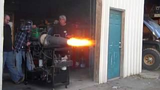 Turbo Jet Engine W/afterburner (homemade) For Sale Send Me Message (trimmed-3).mp4