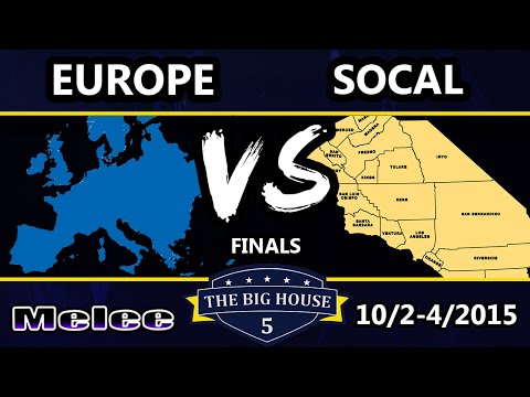 TBH5 - Socal Vs. Europe - Crews Finals - SSBM -Smash Melee