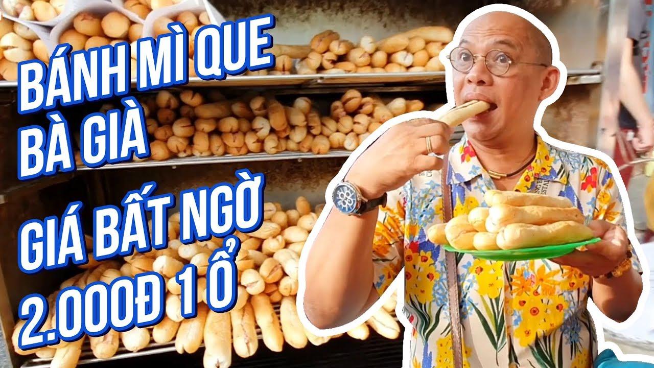 Food For Good #500: Đến Hải Phòng là phải ăn bánh mì cay Bà Già chỉ 2 ngàn 1 ổ pate thơm nức mũi