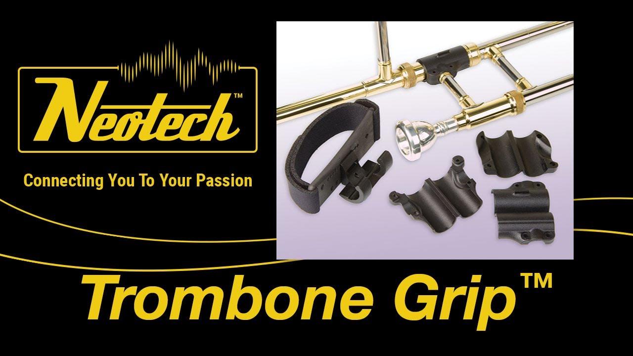 Neotech Trombone Grip Demonstration Video Youtube