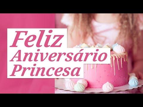 Feliz aniversário, minha princesa!