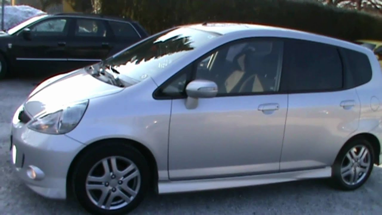 2007 Honda Jazz 1.4i SPORT Full Review,Start Up, Engine, and In Depth Tour - YouTube