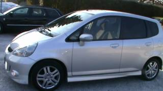 2007 Honda Jazz 1.4i SPORT Full Review,Start Up, Engine, and In Depth Tour