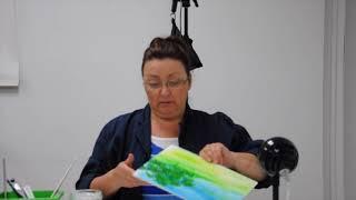 Tutoriels avec Céline Dallaire - Peindre des arbres à l'acrylique
