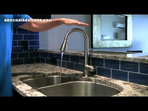 Moen MotionSense Faucet Review - YouTube