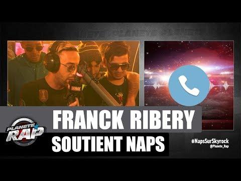 Franck Ribéry soutient Naps dans #PlanèteRap