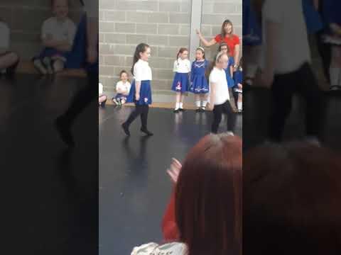 Maisie Irish Dancing 1 of 2