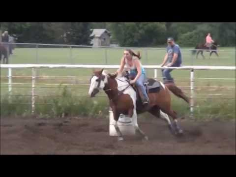 McHenry County Saddle Club Barrel Race 6/21/2016