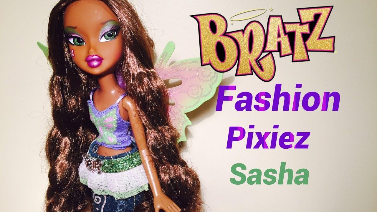 Bratz fashion pixiez sasha youtube Bratz fashion look and style doll
