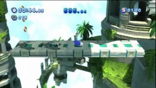 Sonic Generations - Sky Sanctuary Acte 1 - Défi 2 : La menace EggRobo