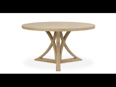 Rustic round dining room tables ideas youtube for Dining room tables you tube
