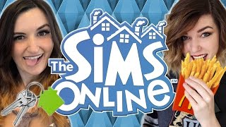 Finally Buying A House + FREE MCDONALDS!!   THE SIMS ONLINE MULTIPLAYER w/ BBPaws